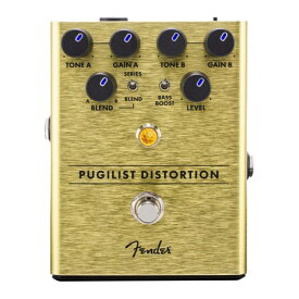 Fender Pugilist Distortion Pedal ディストーション ギターエフェクター
