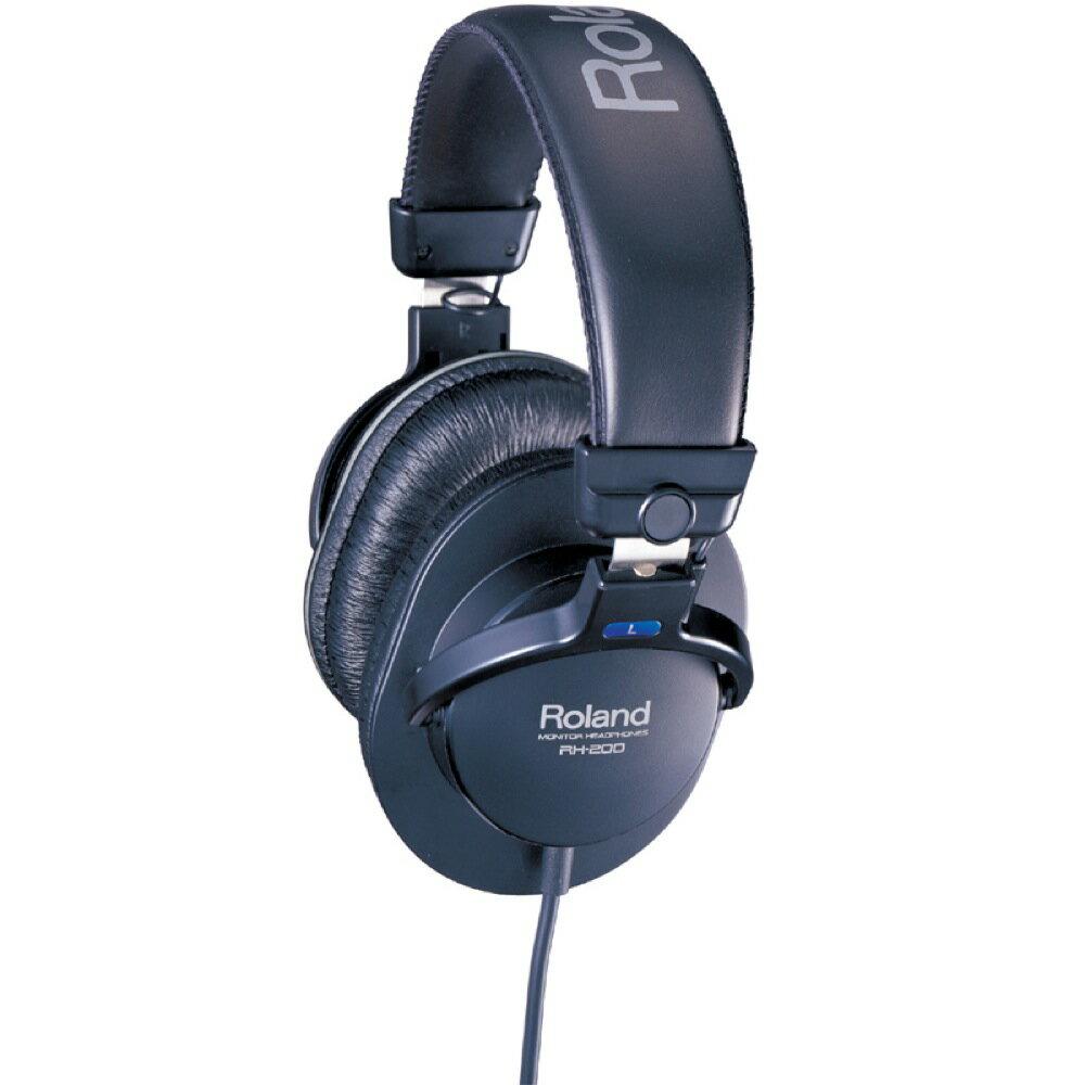 ROLAND RH-200 ブラック ヘッドホン スタジオモニターヘッドホン