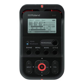 ROLAND R-07 BK High Resolution Audio Recorder オーディオレコーダー