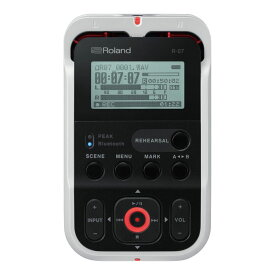 ROLAND R-07 WH High Resolution Audio Recorder オーディオレコーダー