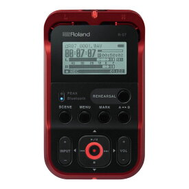 ROLAND R-07 RD High Resolution Audio Recorder オーディオレコーダー