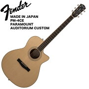 FenderMADEINJAPANPM-4CEPARAMOUNTAUDITORIUMCUSTOMアコースティックギター
