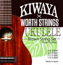 KIWAYA×WORTH STRINGS K-BM ウクレレ弦