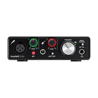 Focusrite Scarlett Solo Gen. 2 USB 오디오 인터페이스