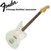 SquierVintageModifiedJazzmasterLaurelFingerboardSNBエレキギター