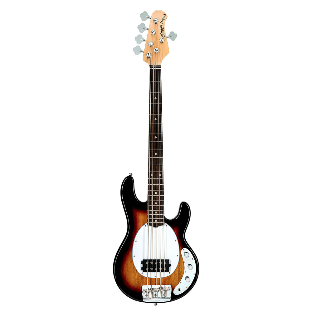 Sterling by MUSIC MAN Ray25CA 3Tone Sunburst 5弦エレキベース