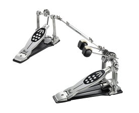 PEARL P-922 ケース付き POWERSHIFTER REDLINE STYLE DOUBLE PEDAL ドラムツインペダル