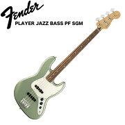 FenderPlayerJazzBassPFSageGreenMetallicエレキベース