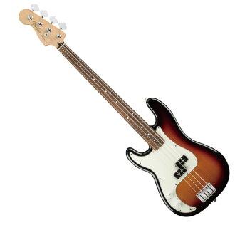 Fender Player Precision Bass Left Handed PF 3TSB レフティエレキベース