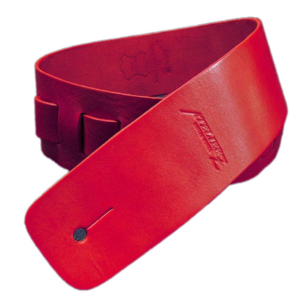 ATELIER Z ZHS-CLC00 M Italian Red Leather Strap ギター/ベース用ストラップ