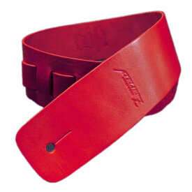 ATELIER Z ZHS-CLC00 M Italian Red Leather Strap ギター/ベース用ストラップ