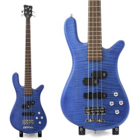 WARWICK Streamer LX 4st Ocean Blue Transparent Satin Maple Top German Pro Team Built エレキベース