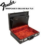 Fender5DepthBriefcaseBlackwithRedPlushInteriorブリーフケース