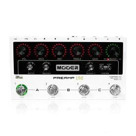 Mooer Preamp Live デジタルプリアンプモデラー ギターエフェクター