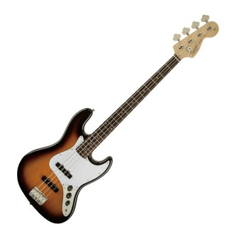 Squier Affinity Series Jazz Bass Laurel BSB electric guitar base