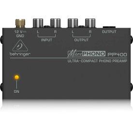 BEHRINGER PP400 MICROPHONO フォノプリアンプ