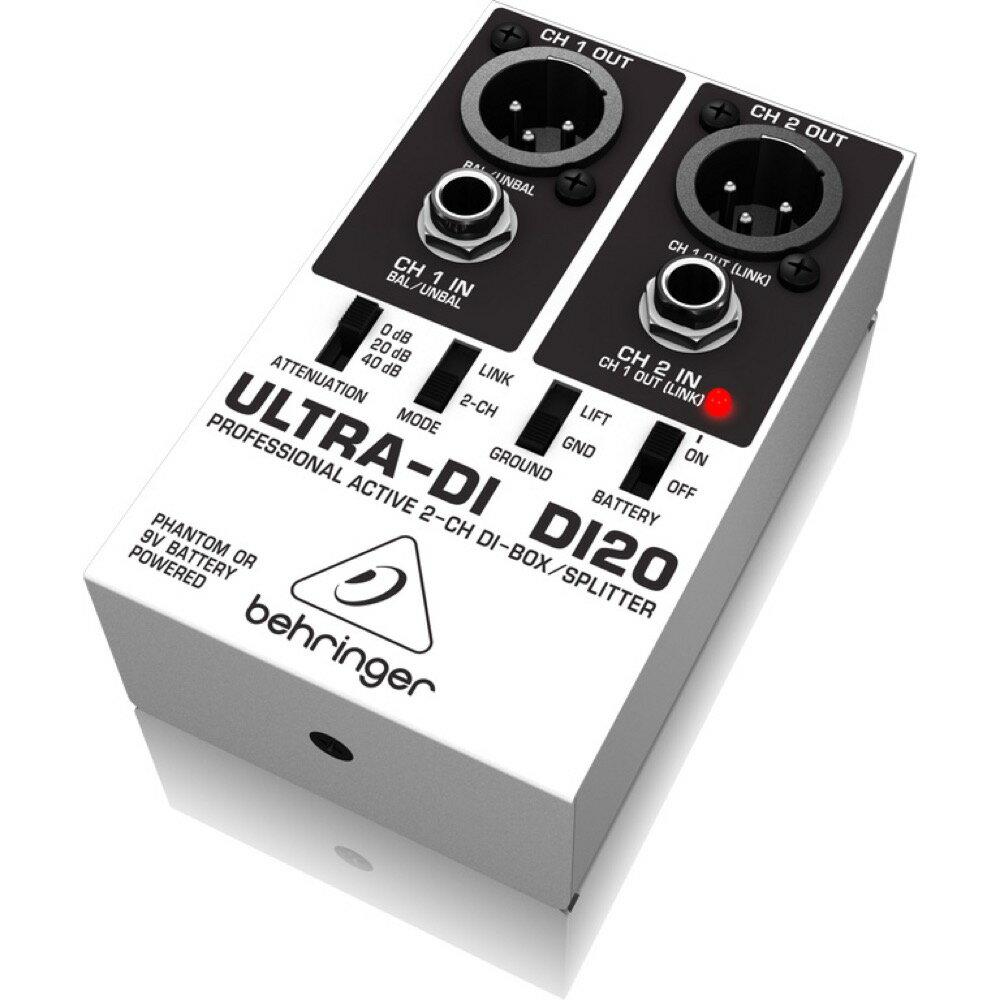 BEHRINGER DI20 ULTRA-DI ダイレクトボックス