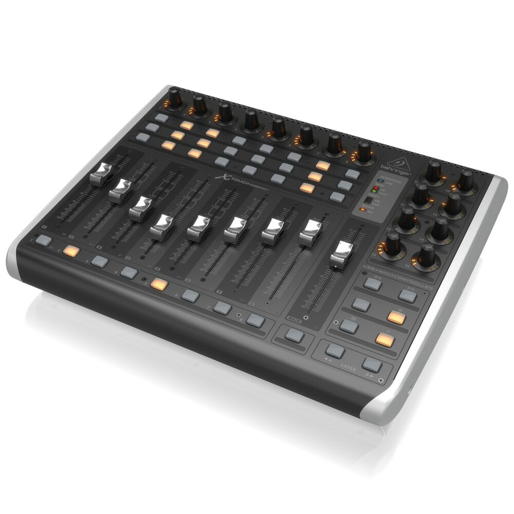 BEHRINGER X-TOUCH COMPACT モーターフェーダー