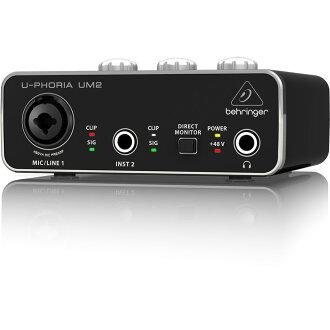 BEHRINGER UM2 U-PHORIA 오디오 인터페이스