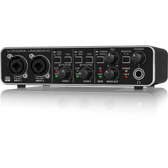 BEHRINGER UMC204HD U-PHORIA 오디오 인터페이스