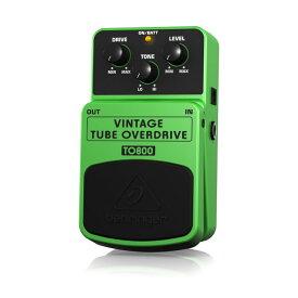BEHRINGER TO800 VINTAGE TUBE OVERDRIVE ギターエフェクター