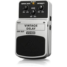 BEHRINGER VD400 VINTAGE DELAY ギターエフェクター