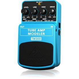 BEHRINGER TM300 TUBE AMP MODELER ギターエフェクター
