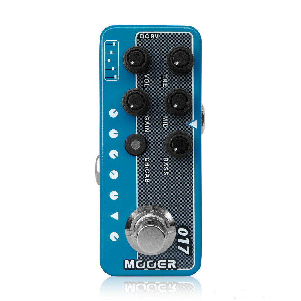 Mooer Micro Preamp 017 プリアンプ ギターエフェクター