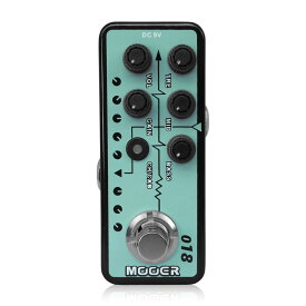 Mooer Micro Preamp 018 プリアンプ ギターエフェクター