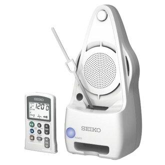 SEIKO EPM5000 WS学校安排遥控式石英摆子节拍器