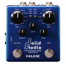 NUX NSS-5 Solid Studio IR & パワーアンプシミュレーター ギターエフェクター