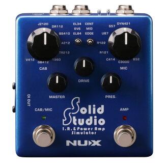 NUX NSS-5 Solid Studio IR &파워업 시뮬레이터 기타 음향 처리 장치