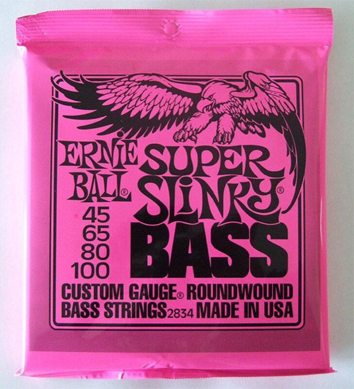 ERNIE BALL 2834/SUPER SLINKY BASS ベース弦