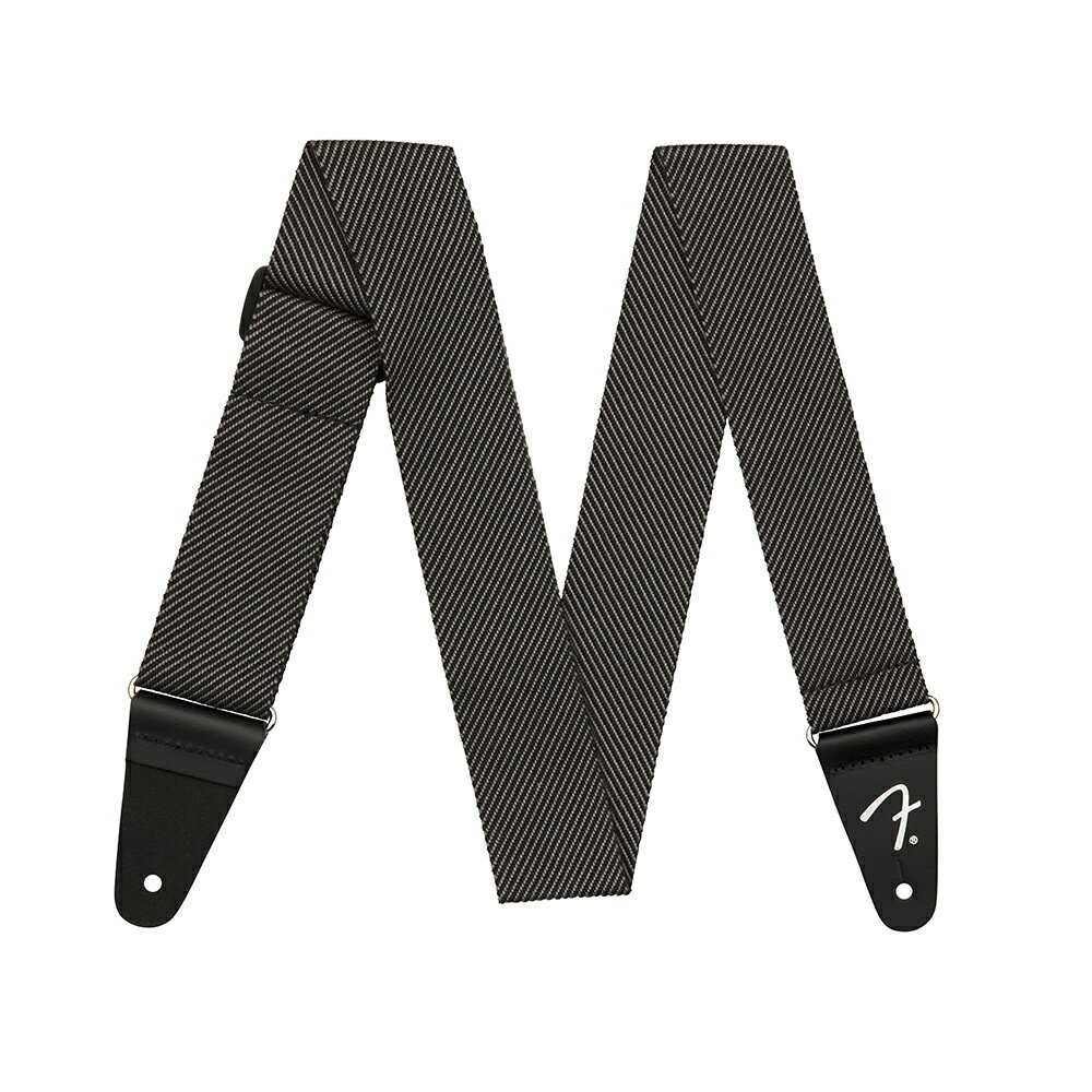 "Fender 2"" Modern Tweed Strap Gray/Black ギターストラップ"