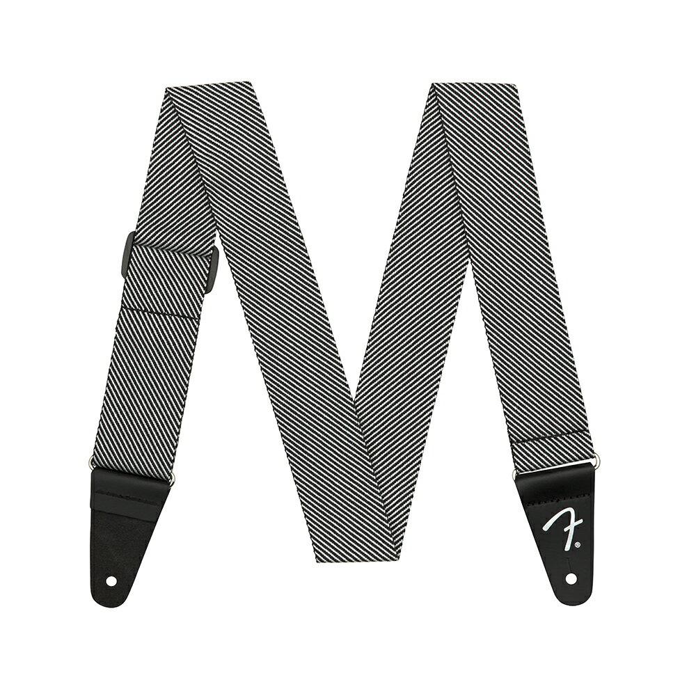"Fender 2"" Modern Tweed Strap White/Black ギターストラップ"
