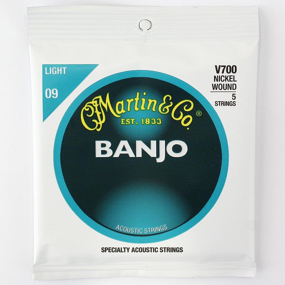 MARTIN V700 Banjo Nickel Wound/Light バンジョー弦 旧パッケージ