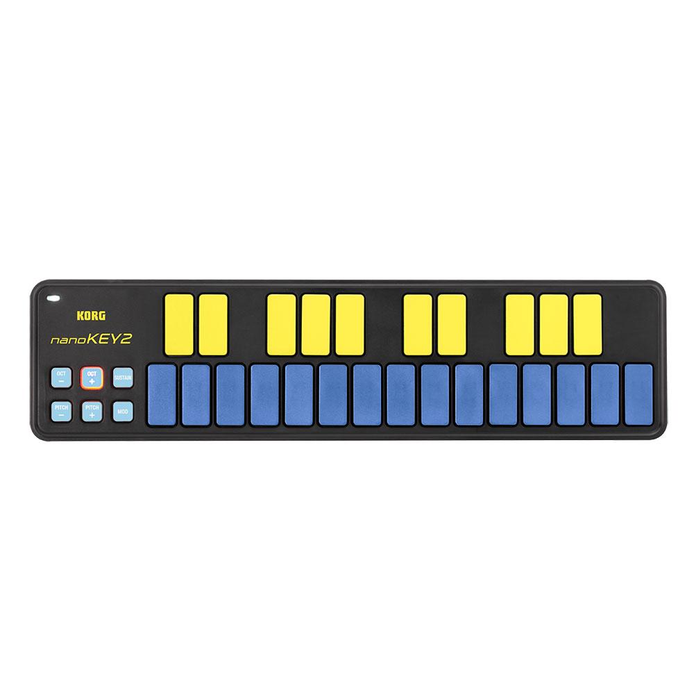 KORG nanoKEY2-BLYL USB-MIDIコントローラー