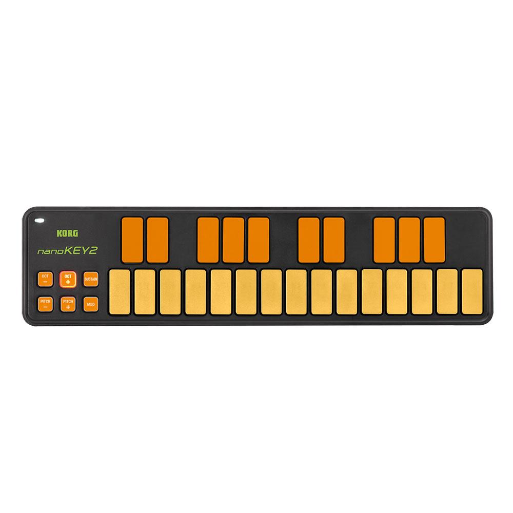 KORG nanoKEY2-ORGR USB-MIDIコントローラー