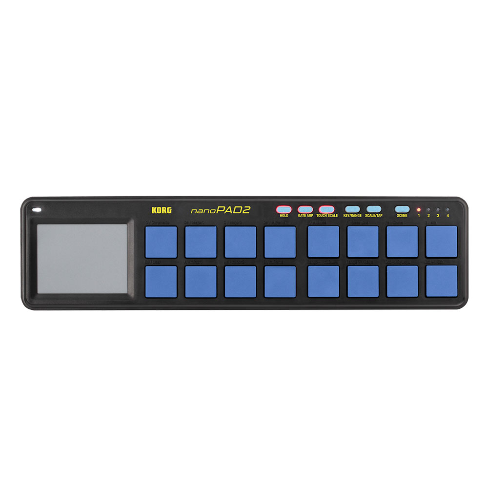 KORG nanoPAD2-BLYL USB-MIDIコントローラー