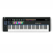 novation61SLMkIII8トラックシーケンサー搭載MIDIキーボード61鍵盤仕様