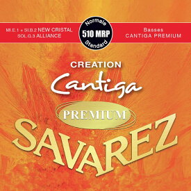 SAVAREZ 510 MRP Normal tension CREATION Cantiga PREMIUM クラシックギター弦