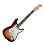 SquierBulletStratwithTremoloHSSLaurelFingerboardBSBエレキギター