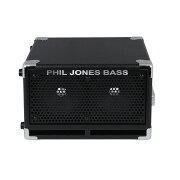 PHILJONESBASSBC-25インチ2発小型ベースアンプ用キャビネット