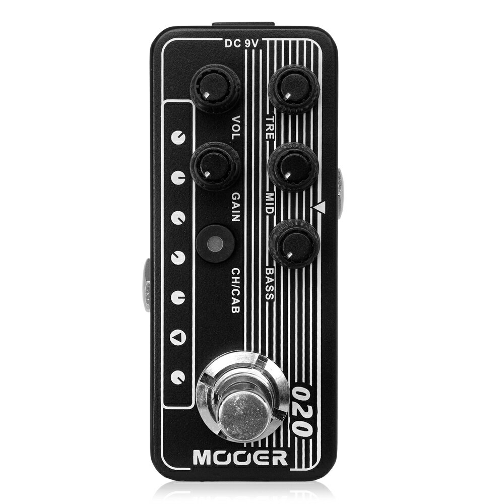 Mooer Micro Preamp 020 プリアンプ ギターエフェクター