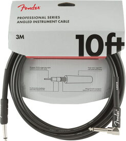 Fender Professional Series Instrument Cable SL 10' Black ギターケーブル