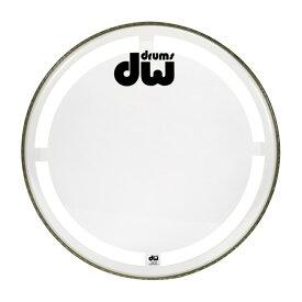 DW DW-DH-CC22K Coated Clear Drum Head コーテッドクリア バスドラム 22インチ ドラムヘッド