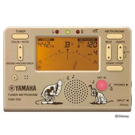 YAMAHA TDM-700DMK ディズニー ミッキーマウス チューナー メトロノーム