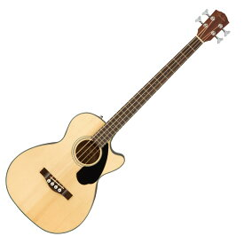 Fender CB-60SCE Bass Laurel Fingerboard Natural エレクトリックアコースティックベース