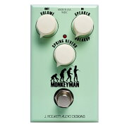 JRockettAudioDesigns(JRAD)Monkeymanギターエフェクター