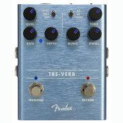 FenderTRE-VERBDIGITALREVERB/TREMOLOギターエフェクター